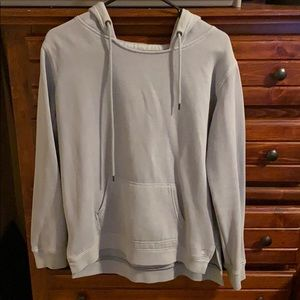 Baby blue sweater! Super comfy!
